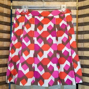 Marc By Marc Jacobs Print Silk Skirt Size 4